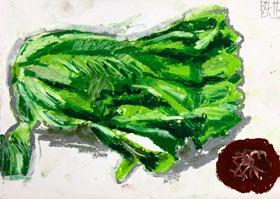 蔬菜写生-儿童画B班-2020年8月3日 ★暑假班★ 新起点画苑-学生