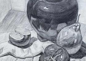素描A班-2020年8月8日 ★暑假班★ 新起点画苑-学生作品