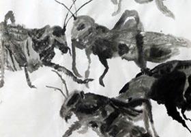 蝗虫-国画精英班-2020年9月5日 ◆秋季班◆ 新起点画苑-学生作品