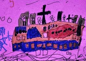 货轮-儿童画启智班-2020年9月4日 ◆秋季班◆ 新起点画苑-学生作品