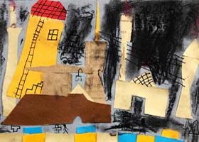 工厂烟囱-儿童画基础班-2020年9月6日 ◆秋季班◆ 新起点画苑-学生作品