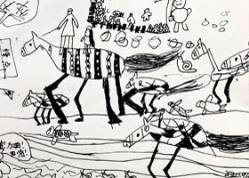 赛跑-儿童画创想A班-2020年9月4日 ◆秋季班◆ 新起点画苑-学生作品