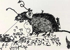 巨型动物-儿童画大师班-2020年9月5日 ◆秋季班◆ 新起点画苑-学生作品