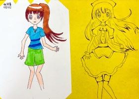 动漫精英A班-2020年9月4日 ◆秋季班◆ 新起点画苑-学生作品
