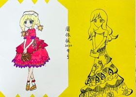 动漫精英B班-2020年9月5日 ◆秋季班◆ 新起点画苑-学生作品