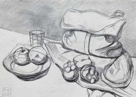 素描C班-2020年9月6日 ◆秋季班◆ 新起点画苑-学生作品
