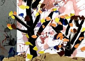 秋天-儿童画基础班-2020年9月13日 ◆秋季班◆ 新起点画苑-学生作品