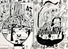 面条的世界-儿童画创想B班-2020年9月12日 ◆秋季班◆ 新起点画苑-学生作品