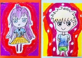 动漫基础班-2020年9月12日 ◆秋季班◆ 新起点画苑-学生作品