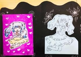 动漫精英B班-2020年9月12日 ◆秋季班◆ 新起点画苑-学生作品