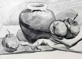 素描A班-2020年9月12日 ◆秋季班◆ 新起点画苑-学生作品