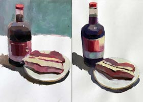 色彩C班-2020年9月13日 ◆秋季班◆ 新起点画苑-学生作品