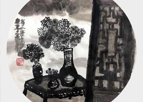 窗外-国画精英班-2020年9月19日 ◆秋季班◆ 新起点画苑-学生作