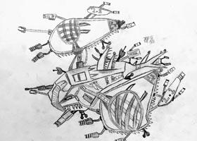 空间飞行器-儿童画大师班-2020年9月19日 ◆秋季班◆ 新起点画
