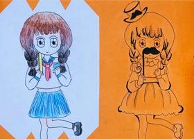 动漫精英B班-2020年9月19日 ◆秋季班◆ 新起点画苑-学生作品