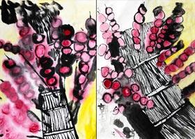 冰糖葫芦-国画基础班-2020年10月11日 ◆秋季班◆ 新起点画苑-学生作品
