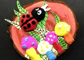 森林里的小蘑菇-儿童画创想A班-2020年10月10日 ◆秋季班◆ 新