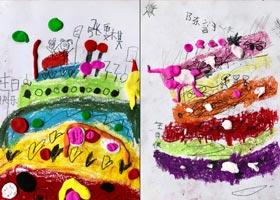 心愿-儿童画启智班-2020年10月16日◆秋季班◆新起点画苑-学生作品