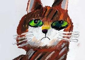 猫-儿童画大师班-2020年10月17日◆秋季班◆新起点画苑-学生作品