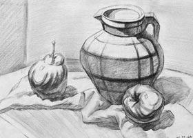 素描A班-2020年10月17日◆秋季班◆新起点画苑-学生作品
