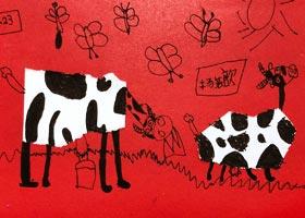 奶牛-儿童画启智班-2020年10月23日◆秋季班◆新起点画苑-学生作品
