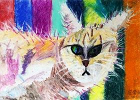 猫-儿童画大师班-2020年10月24日◆秋季班◆新起点画苑-学生作品