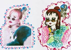 动漫精英B班-2020年10月24日◆秋季班◆新起点画苑-学生作品