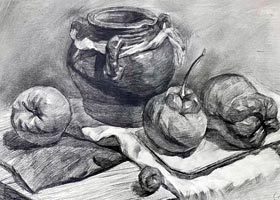 素描B班-2020年10月24日◆秋季班◆新起点画苑-学生作品