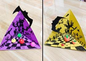 万圣节手工-儿童画创想B班-2020年10月31日◆秋季班◆新起点画苑-学生作品