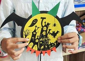 万圣节手工-儿童画大师班-2020年10月31日◆秋季班◆新起点画苑-学生作品