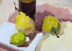 色彩A班-2020年10月31日◆秋季班◆新起点画苑-学生作品