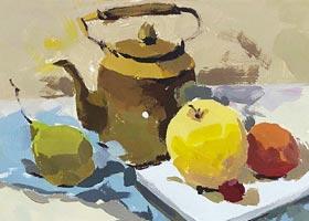 色彩B班-2020年11月1日◆秋季班◆新起点画苑-学生作品