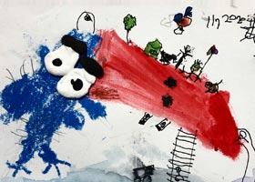 大嘴鸟朋友-儿童画基础班-2020年11月8日◆秋季班◆新起点画苑-学生作品