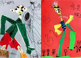 我的爷爷-儿童画启智班-2020年11月13日◆秋季班◆新起点画苑-学生作品