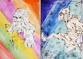 动漫精英A班-2020年11月13日◆秋季班◆新起点画苑-学生作品