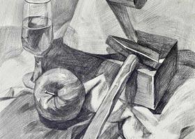 素描B班-2020年11月14日◆秋季班◆新起点画苑-学生作品