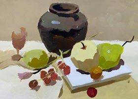 色彩A班-2020年11月14日◆秋季班◆新起点画苑-学生作品