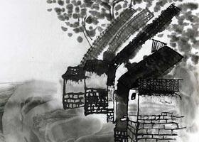 房前屋后-国画基础班-2020年11月22日◆秋季班◆新起点画苑-学