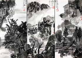 风景-国画精英班-2020年11月21日◆秋季班◆新起点画苑-学生作品