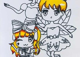 动漫精英A班-2020年11月20日◆秋季班◆新起点画苑-学生作品