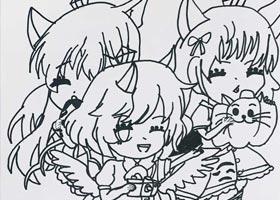 动漫精英B班-2020年11月21日◆秋季班◆新起点画苑-学生作品