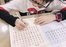 硬笔书法B班-2020年11月22日◆秋季班◆新起点画苑-学生作品