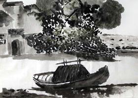 风景-国画精英班-2020年11月28日◆秋季班◆新起点画苑-学生作