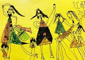 漂亮姐姐-儿童画启智班-2020年11月27日◆秋季班◆新起点画苑-
