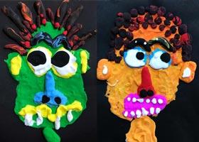 搞怪的人-儿童画基础班-2020年11月29日◆秋季班◆新起点画苑-
