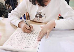 硬笔书法B班-2020年11月29日◆秋季班◆新起点画苑-学生作品