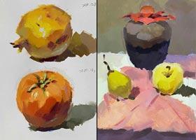 色彩A班-2020年12月5日◆秋季班◆新起点画苑-学生作品