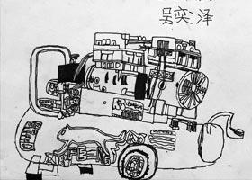 气磅写生-儿童画创想A班-2020年12月25日◆秋季班◆新起点画苑-学生作品