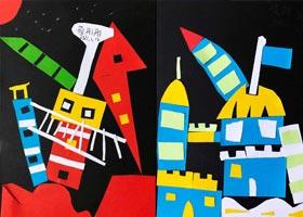儿童画补课-2020年1月16日◆秋季班◆新起点画苑-学生作品