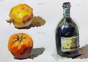 色彩班-2021年1月16日◆秋季班◆新起点画苑-学生作品